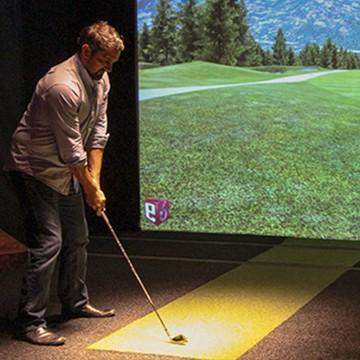 Indoor Golf Simulator Rochester, NY | AVID Indoor Golf & Fitness