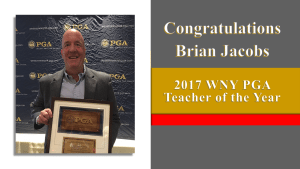 Brian Jacobs Teacher of the Year